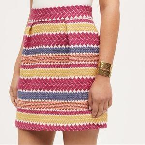 Anthropologie Jacquard Nomad Skirt